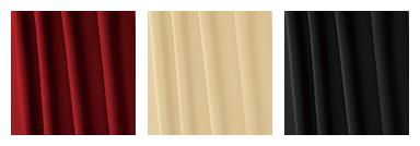 イメージ:カーテンのカラーバリエーション